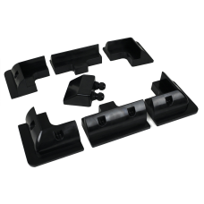 Solar ABS Mounting System for Vans, Boats, Sheds 7 piece set