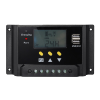 20A PWM Solar Charge Controller with Dual USB ports and LCD display.