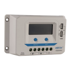 20A PWM EPever Solar Charge Controller with Dual USB ports and LCD display VS2024AU