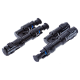 MC4 Connector Y Splitter 2 way branch - Pair (Male & Female)