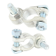 Battery Terminal Clamps M8 Bolts - Pair