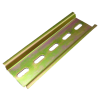 DIN mount rail 35mm 10cm long for DC or AC Breakers