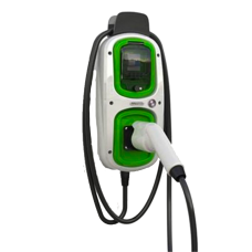 Electric Vehicle Charger 7.2kW Rolec Wallpod EV Homecharge with Type 1 Lead