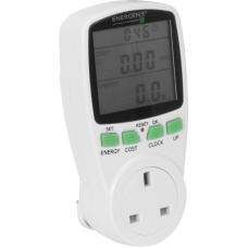Plug In Power Meter - Monitor how much power your equipment uses