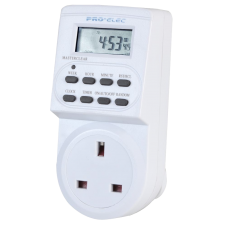 24 Hour Plug-In Digital Timer 230VAC