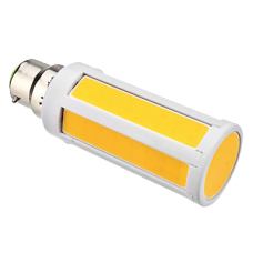 230V LED 10W COB Chip On Board light bulb - Bayonet Warm White 920 Lumen