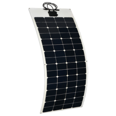 140W semi-flexible 12V Mono-crystaline solar panels - Sunpower E20 cells - Stick down