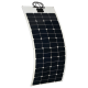 24v 560W complete solar kit with flexible solar panels, MPPT controller, cables and connector