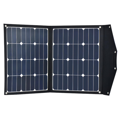 12v 70w Portable Folding Solar Panel With Built In Charge