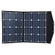 12V 80W portable folding solar panel with built in charge controller - lightweight, SunPower E20 cells, perfect for Hymer, Caravans etc