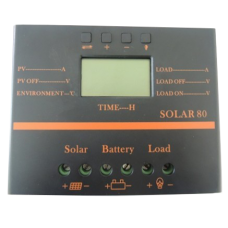 Solar 80 - 80A PWM Charge Controller 12v/24v