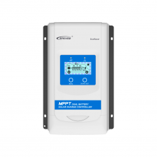 30A Dual Battery 12v/24v MPPT charge Controller - EPever DuoRacer DR3210N-DDS - 100VOC PV - LCD Meter