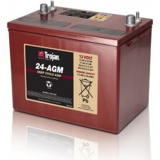 12V Trojan Battery 24AGM 76Ah AGM Deep Cycle