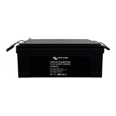 Victron Lithium SuperPack LiFePO4 12.8V 200AH Battery with integrated BMS and safety switch