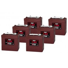 6 x 6V Trojan Battery T105 225Ah Deep Cycle