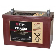 12V Trojan Battery 27AGM 89Ah AGM Deep Cycle