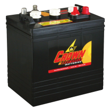 Crown 6V 220Ah Battery - CR-220-220AH--6V - T105 equivalent