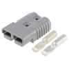 Anderson 175A Grey Connector with 16mm terminals - quick cable connect & disconnect