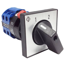 Change Over Switch For Solar Charge to 2 separate batteries or switching AC sources - 20A - 2 pole