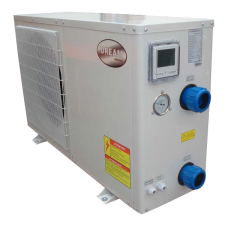 8Kw Swimming Pool Heat Pump - uses 1.6Kw of power - for 35,000 Litre Pools