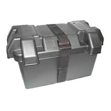 Durite Black Moulded Plastic Standard Battery Box - Large