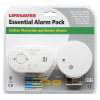 Carbon Monoxide & Smoke Alarm Kit