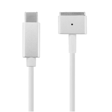 Macbook Magsafe 2 Charging Cable from USB-C PD can use with 12V adaptor for 12V Macbook Charging - Magsafe 2
