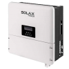 10Kw Hybrid SolaX 3 phase on Grid Storage Hybrid Kit with 12.8Kwhr HV Lithium Battery and 10Kw All Black Solar Panels
