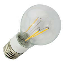 12V Edison COB Filament Globe Light E27 Screw In 3W Warm White Light Bulb