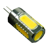 12V LED 5W 360° light G4 Warm White Chip on Board COB