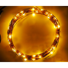 12V LED Fairy Lights - 10m 100 lights - Warm White - OPTIONAL EXTRAS REQUIRED, SEE RELATED ITEMS