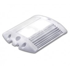 Led light 12 or 24V SUPERLUX 10-32V 6W 624 LUMENS SILVER/WHITE IP67