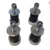 Boat roof Magnetic Mounts - Set of four magnetic feet for solar panels with a rigid frame