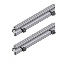 Schletter mounting rail joiners for Solo light rail, 2 pieces for one join, inc screws,