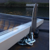 Boat Solar Panel Tilting Mounting Kit - Stainless Steel Swivel Bracket