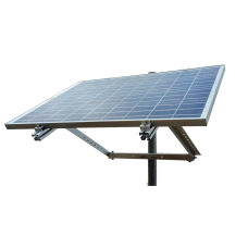 Side of Pole Solar Panel Mount for Two Large Panels 200W-300W