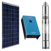 1.5Kw Solar Water Pumping Kit with 2.6Kw Solar Panels, Inverter and Pump