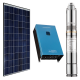 600w DC Solar Water Pumping Kit with 1kw Solar Panels, Inverter and Pump