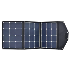 12V 120W portable folding solar panel with SunPower Cells - lightweight, High Performance cells, perfect for Hymer , T5 , Caravans etc