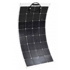150W Semi flexible Monocrystaline Solar Panels - Sunpower E20 cells - Stick down