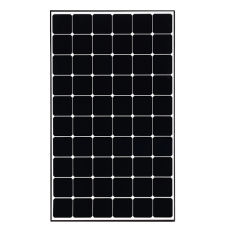 380W LG Solar Panel - Mono NeoN R Black frame - New A grade - 60 cell - PALLET DELIVERY ONLY, HIGHER COST FOR SMALL ORDERS