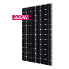 12V 335W complete boat solar kit with Single LG335W solar panel, MPPT controller and boat swivel mountings