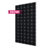 360W LG Solar Panel - Mono NeoN R Black frame - New A grade - Similar size to 250W - PALLET DELIVERY ONLY
