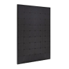 270W Smaller Size Perlight All Black Mono Percium Solar Panel - 54 cell smaller 1.48m size - great for vans and motorhomes