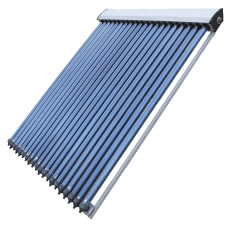 15 Tube Solar Thermal Evacuated Tube Collector Panel 1900mm tall 1250mm wide